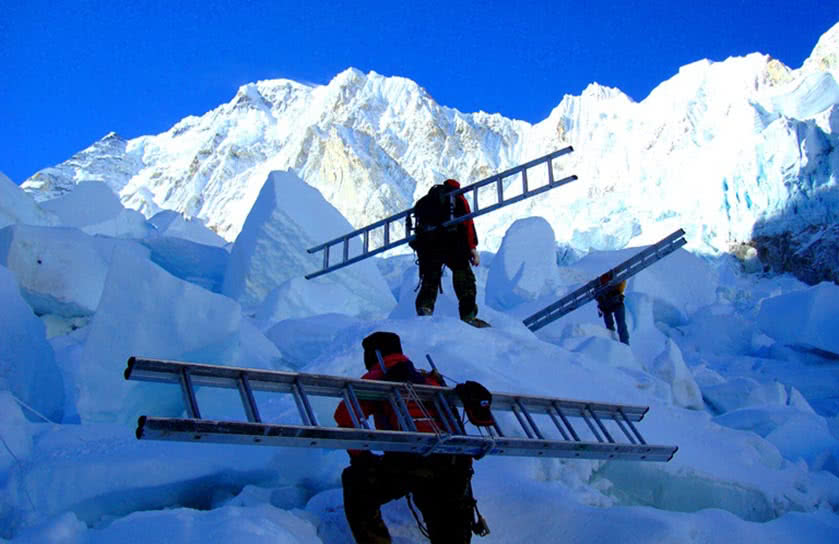Ice Fall Doctors Everest