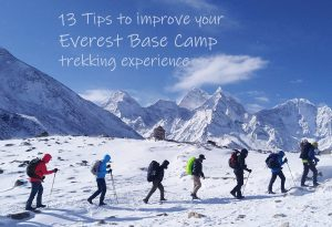 13 Tips to Improve Your Everest Base Camp Trekking Experience