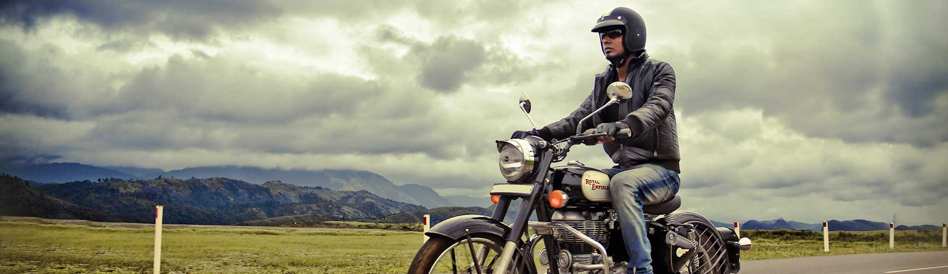 Royal Enfield motorbiking tour