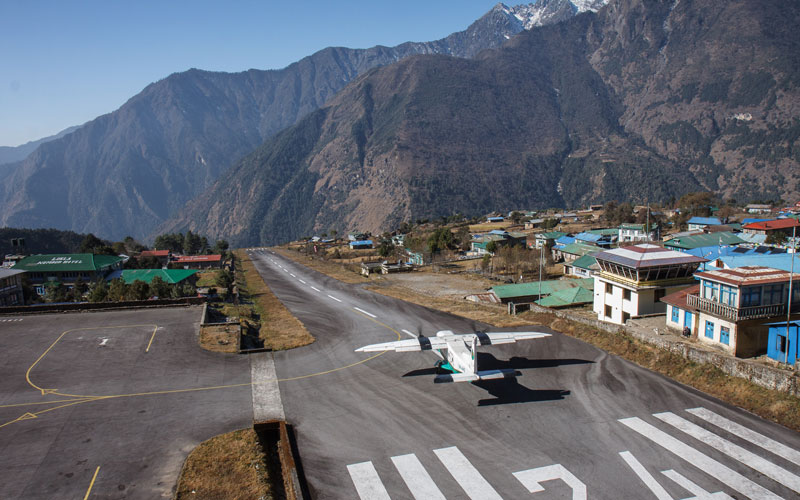 Lukla Airport. Gateway to the Everest. Photo Flickr/Petr Meissner