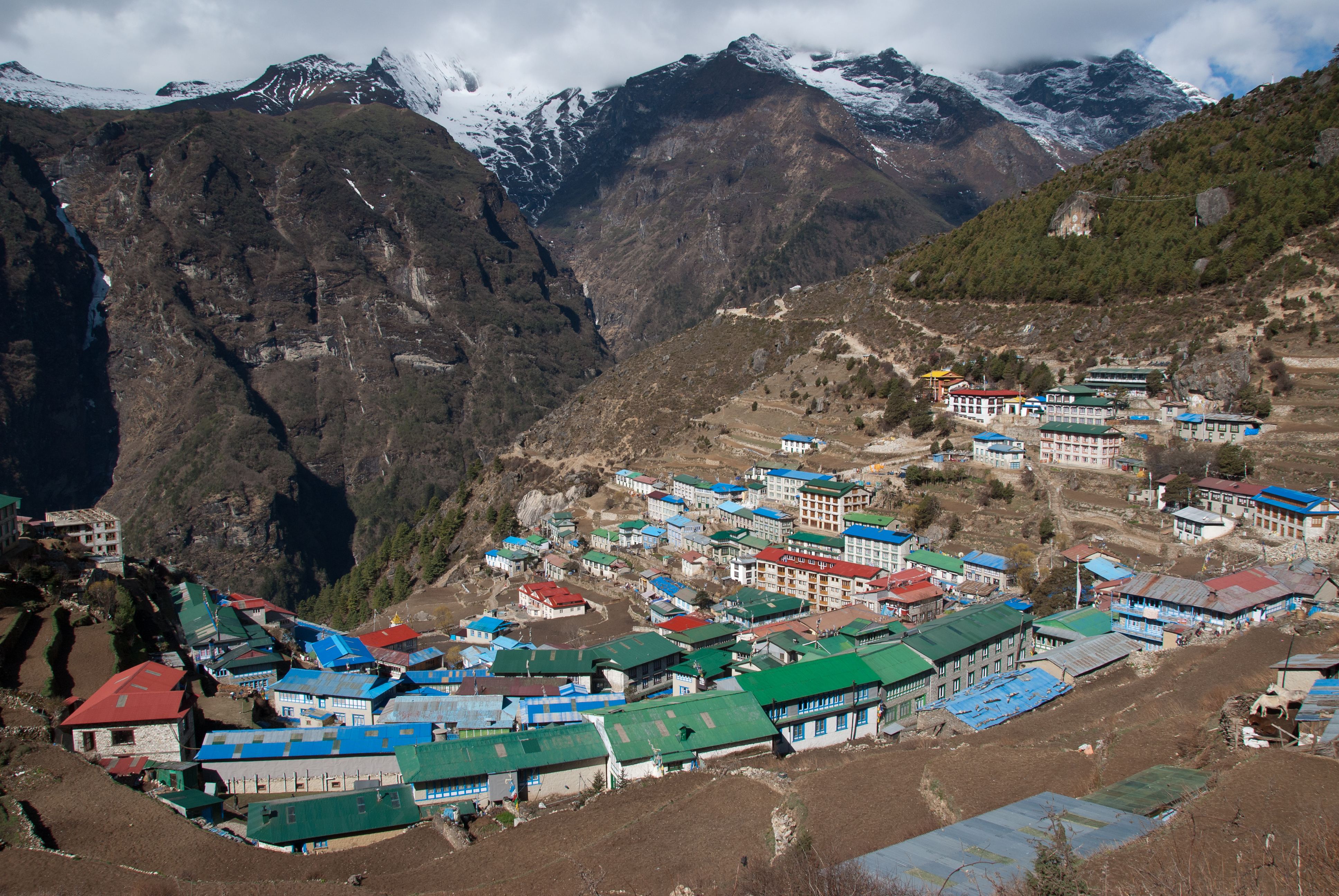 A small village in Everest region