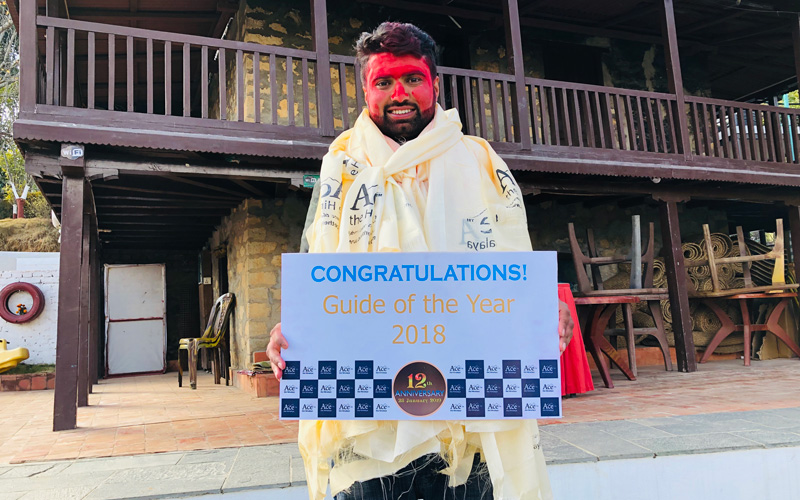 guide of the year 2018 Ramhari Neupane