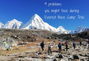 Problems During Everest Base Camp Trek