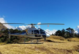 Four amazing Helicopter treks in the Everest Region